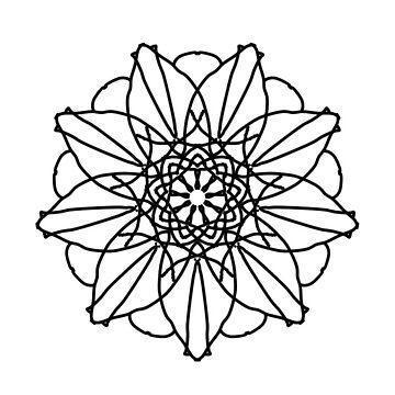 Geometric Flower by ShyMagnolia