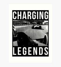 Charging Legends Art Print