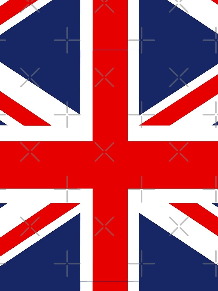 Union Jack Flag of the United Kingdom. by Picturestation
