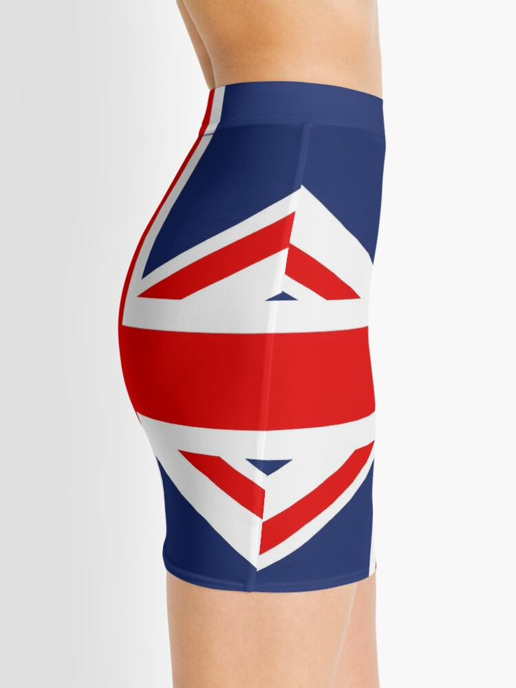Alternate view of Union Jack Flag of the United Kingdom. Mini Skirt