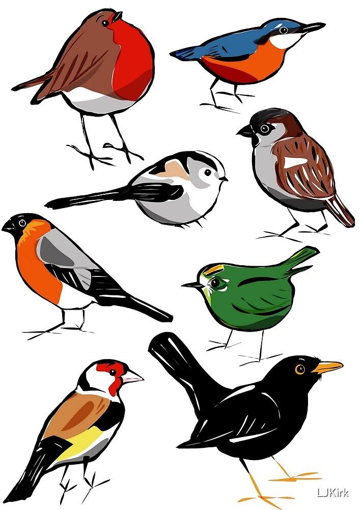 Garden Birds  by LJKirk