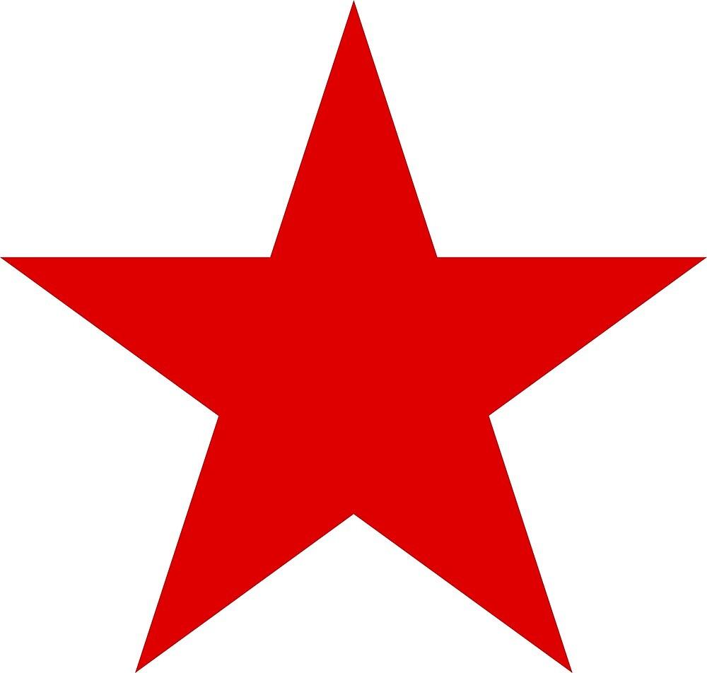 Red Star ★ Antifascism Antifascist Communist Communist Socialist Socialism by Martstore
