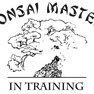 Bonsai master in training by zibik-design