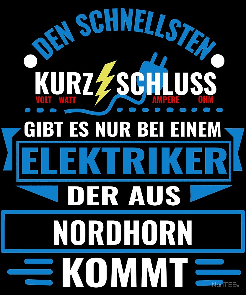 NORDHORN - We have the best electricians, no one gets it that fast. by NoriTEEs