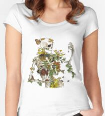 Bones and Botany Women's Fitted Scoop T-Shirt