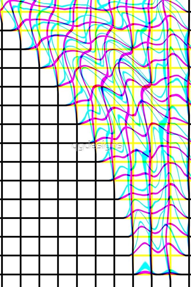 Glitch Grid  by qgdesigns
