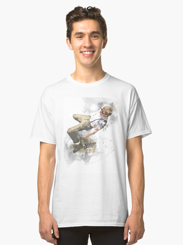 OUT ON THE FLOOR  Classic T-Shirt Front