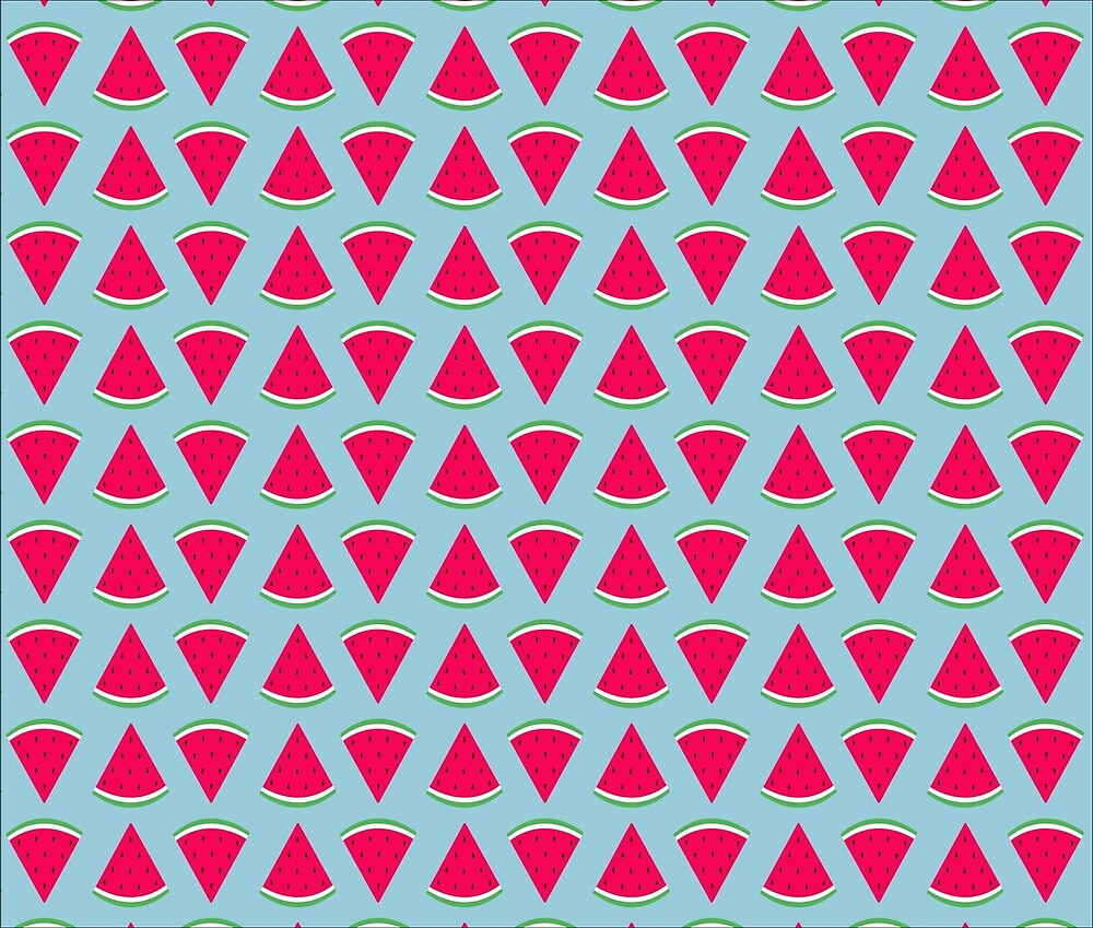 Watermelon Pattern by whyco