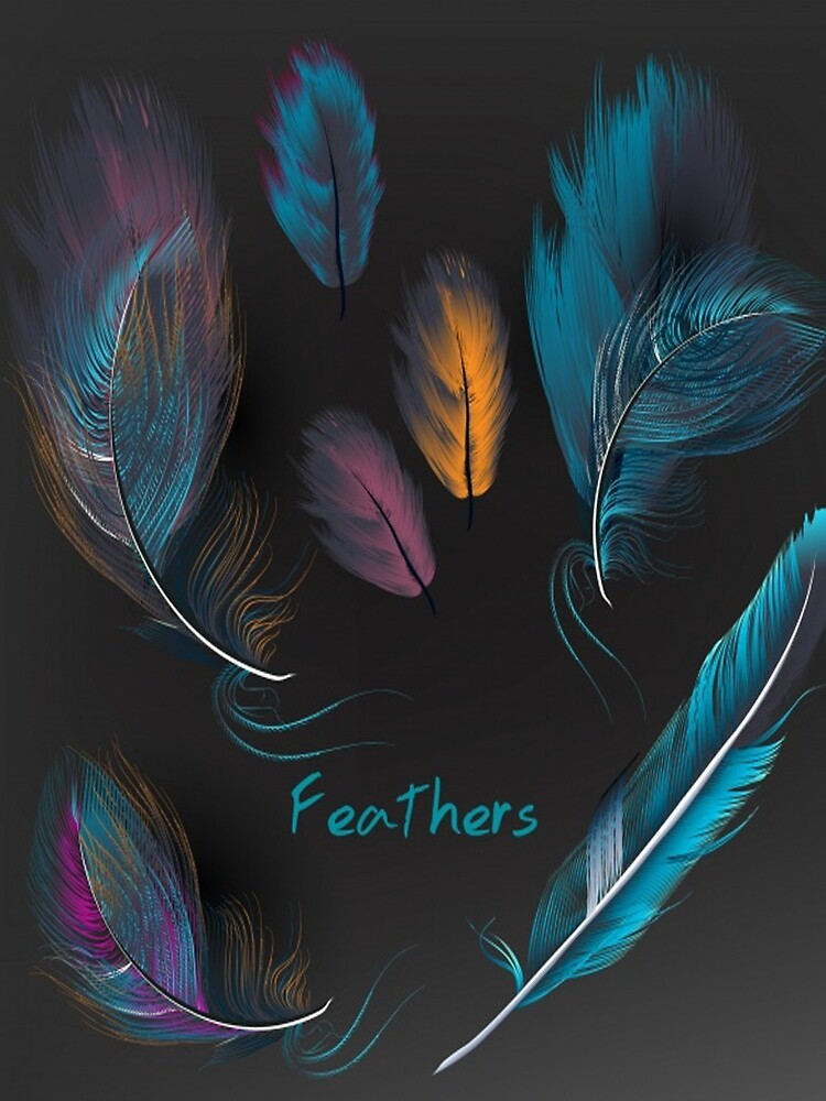feathers by srplbydz