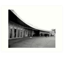 Will Rogers Memorial Center Art Print