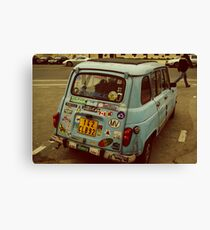 Sticker Bug Canvas Print