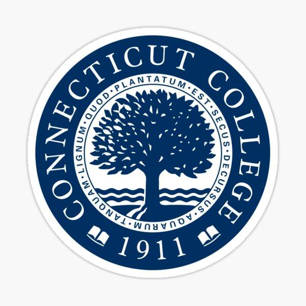 Connecticut College Seal Sticker