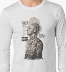 Taeyang2 Ringa Linga T-Shirt