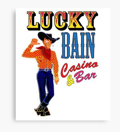 Lucky Bain Casino & Bar Canvas Print