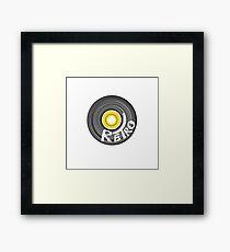 RETRO RECORD  Framed Print