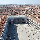 St Marks Square From The Bell Tower by ejacent