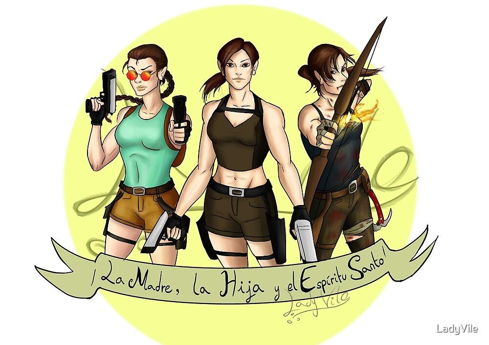 The Trinity Tomb Raider. by LadyVile