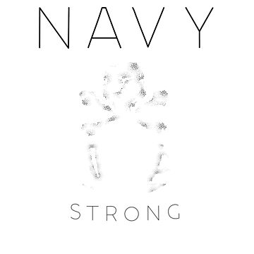 """NAVY STRONG - COFFEE"" T-Shirt by GHDesigns"