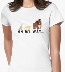 Ice Age - On My Way Women's Fitted T-Shirt