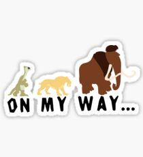 Ice Age - On My Way Sticker