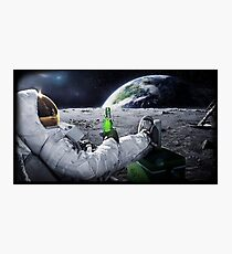 Beer on the Moon Photographic Print