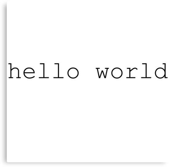 Hello World - Programming by MaxCohn