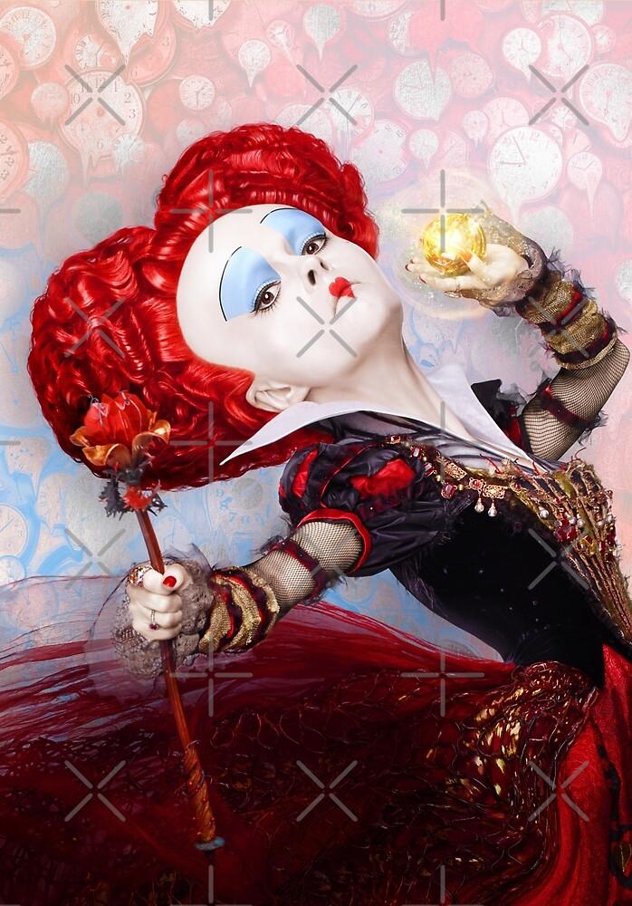 Alice in wonderland red queen by Lefteris Betsis
