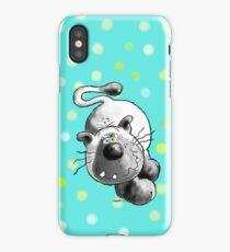 Crazy Siamese Cat  iPhone Case