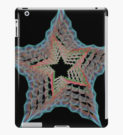 Guillochete star iPad Case/Skin