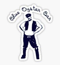 BLUE OYSTER BAR - POLICE ACADEMY MOVIE Sticker