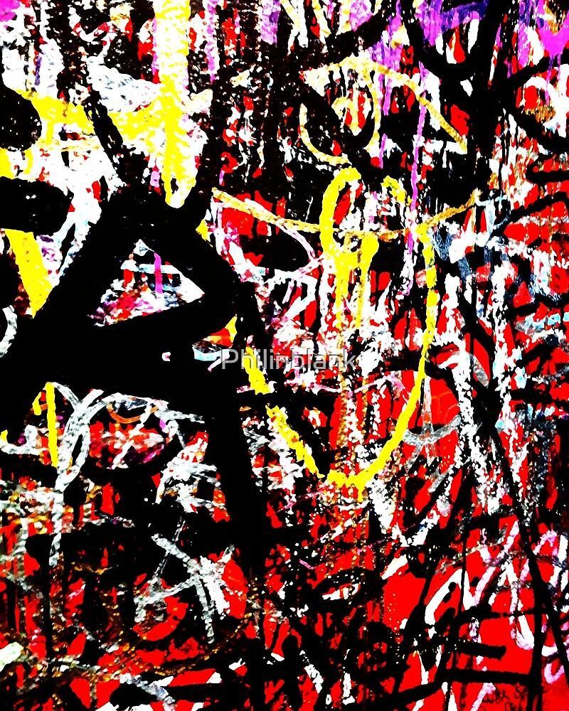 Wall of Graffiti  by Philinblank