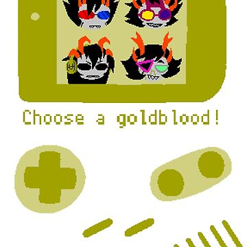 Choose a goldblood! by NoahThePixal