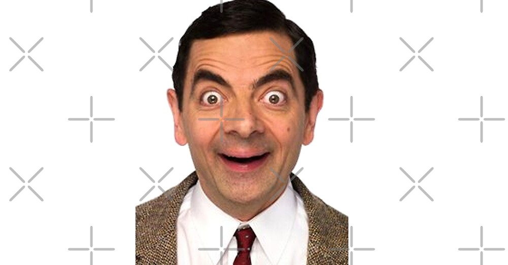 Funny Mr Bean Face by Desire-inspire