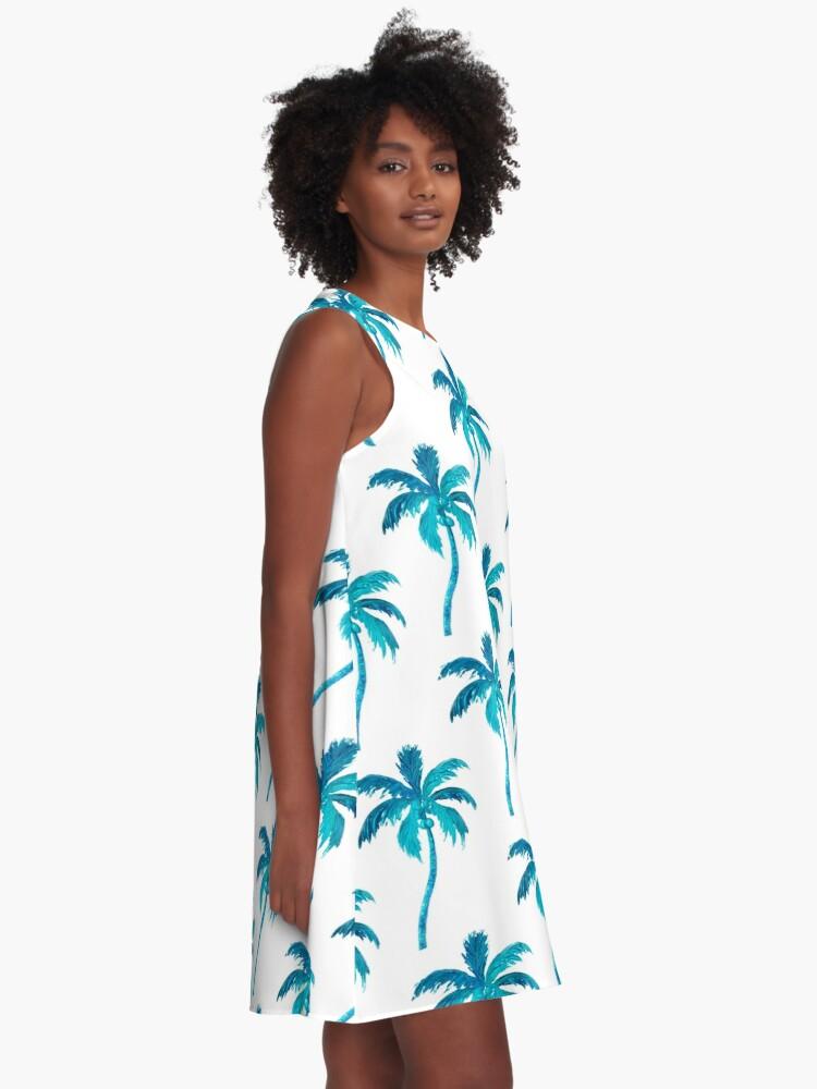 Alternate view of Coconut Palm Tree A-Line Dress