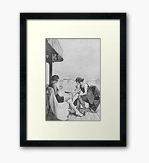 50s Girls Framed Print