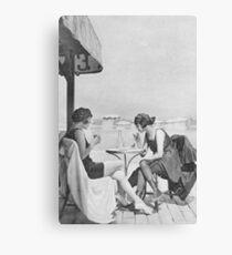 50s Girls Canvas Print