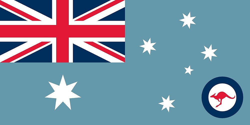Flag of the Australian Air Force by ofmany