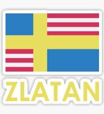 Sverige / USA / Zlatan Sticker