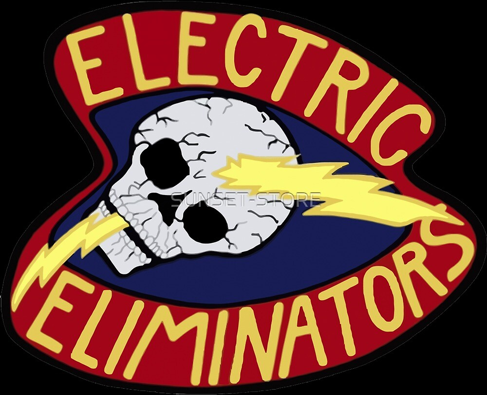 ELECTRIC ELIMINATORS GANG - THE WARRIORS  by SUNSET-STORE