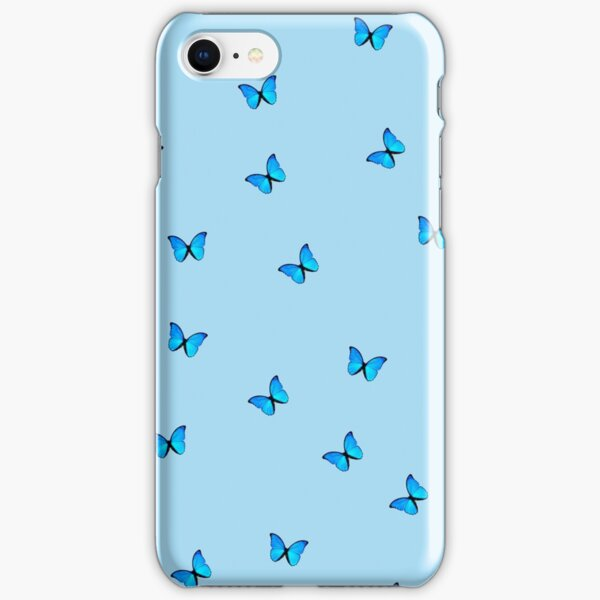 blue butterfly iPhone Snap Case