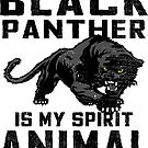 Vintage Black Panther Spirit Animal by EthosWear