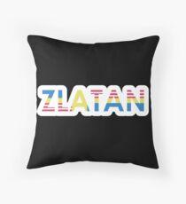 Sverige / USA / Zlatan (bold) Throw Pillow