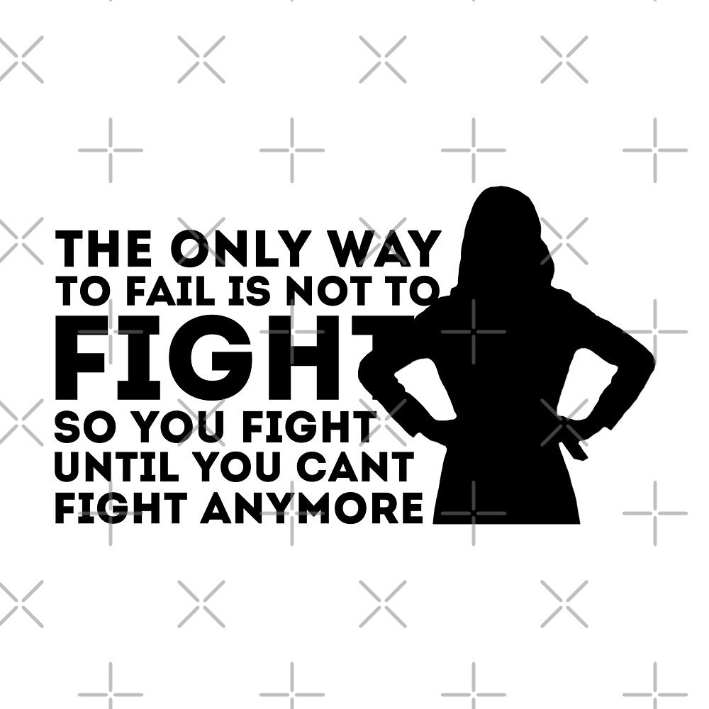 Amelia Shepherd - Fight until you can't fight anymore by d e.