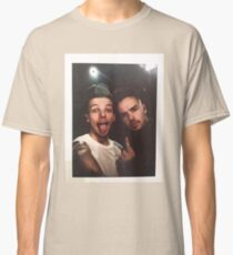 Liam Payne and Louis Tomlinson Polaroid Classic T-Shirt