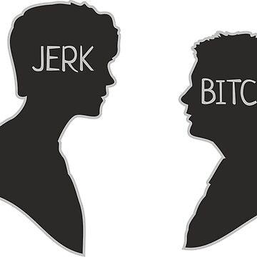 Sam & Dean, Jerk Bitch by DaniiAnn