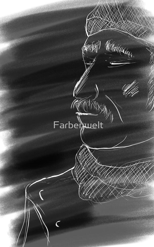 Old man by Farbenwelt