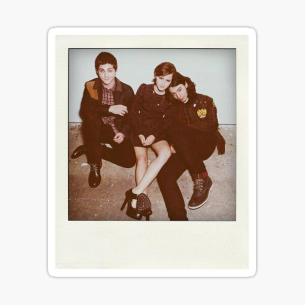 Perks of being a Wallflower Polaroid Sticker