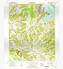 USGS TOPO Map Kentucky KY Briensburg 708230 1955 24000 Poster
