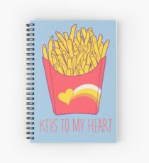 Keys To My Heart Spiral Notebook