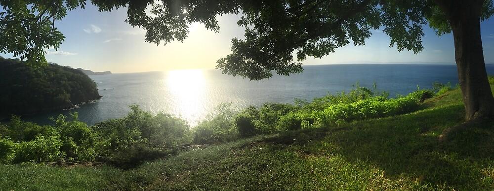 Costa Rica Sunset by lreichmann